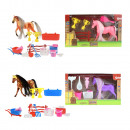 wholesale Other: Little Horse with accessories 4 assorted