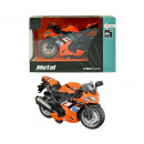 Race engine orange in window box