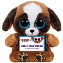 TY Plush Dog with Glitter eyes Smartphone holder P