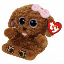 TY Plush Dog with Glitter eyes Smartphone holder Z