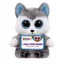 Supporto per smartphone TY Plush Husky con ...