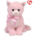 TY Plush Cat pink with Glitter eyes Duchess 22cm