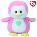 TY Plush Penguin pink Penny 17cm