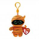 TY Plush Bagclip Mumie orange with Glitter eyes Ma