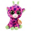 TY Plush Giraffe with Glitter eyes Gilbert 24cm