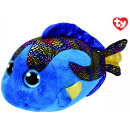 TY Plüsch Fisch Blau mit Glitzeraugen Aqua 24cm