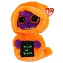 ingrosso Articoli da Regalo & Cartoleria: TY Peluche Spook Orange con occhi glitter Skelton