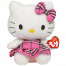 TY Hello Kitty Plush Cat with Kilt pink