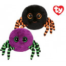 TY Plush Halloween Spider with Glitter eyes Crawly
