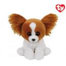 TY Plush Dog with Glitter eyes Barks 15cm