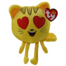 wholesale Models & Vehicles: TY Emoji Cat with Heart eyes 15cm