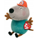wholesale Toys: TY Peppa Baby Plush Dog Grandpa Kläff 15cm