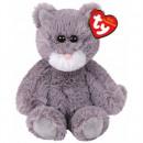 TY Plush Cat Gray with Glitter eyes Kit 20cm
