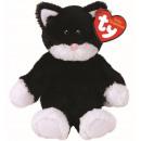 TY Plush Cat with Glitter eyes Bessie 20cm