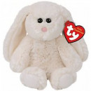 TY Plush Rabbit with Glitter eyes Pearl 20cm