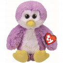 TY Plush Penguin purple with Glitter eyes Gordon 2