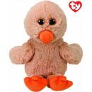 TY Plush Duck with Glitter eyes Debbie 20cm