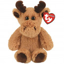 TY Plush Reindeer with Glitter eyes Archibald 20cm