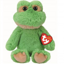 TY Plush Frog with Glitter eyes Floyd 33cm