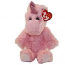 TY Plush Unicorn pink with Glitter eyes Estelle 3
