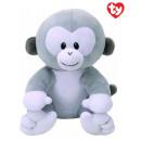 TY Plush Monkey Grey Pookie 17cm