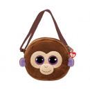 TY Plush Shoulder Bag Monkey with Glitter Coconut