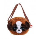 TY Plush Shoulder Bag Dog with Glitter eyes Duke