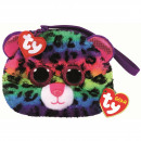 TY Plush Wallet Leopard with Glitter eyes Do