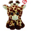 Großhandel Puppen & Plüsch: TY Plüsch Giraffe mit Glitzeraugen Pfirsich 24cm