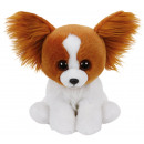 TY Plush Dog brown with Glitter eyes Barks 26cm