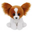 Großhandel Puppen & Plüsch: TY Plüschhund braun mit Glitzeraugen ...