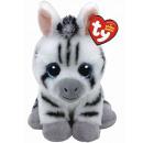 TY Plush Zebra with Glitter eyes Stripes 24cm