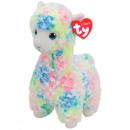 TY Plush Lama colored with Glitter eyes Lola 33cm