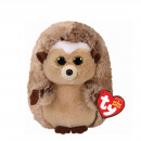 TY Plush Hedgehog brown with Glitter eyes Ida 24cm