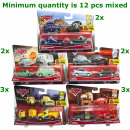 wholesale Other: Cars Vehicles Die-cast 2 pieces in blister assort