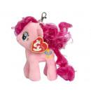 TY Pluche My Little Pony Sleutelhanger Pinkie Pie