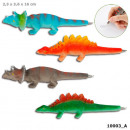 wholesale Pencils & Writing Instruments: Depeche pen with dino in it Display 16cm