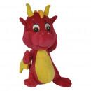 Großhandel Puppen & Plüsch: Plüsch Drache Safiras 25cm Rot