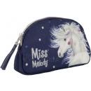 wholesale Make up: Miss Melody Make-up bag Horse Blue