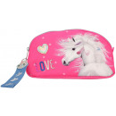 Miss Melody Make-up bag Horse Pink 19x10x4.5cm