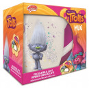 Trolls Mug 2 assorted 10,5x12cm (Without Chocolate