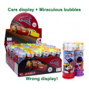 Großhandel Sonstige: Miraculous Bubbles 60ml in CarsAufsteller (36)