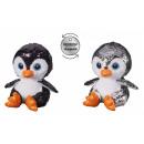 nagyker Játékok: Plüss Penguin Glitter 15cm