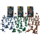 wholesale Other: Soldiers Playset 20pcs assorted 14.5x25.5cm