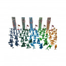 wholesale Other: Soldiers Playset in tube 16pcs 5 assorted 26cm