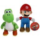 hurtownia Zabawki: Pluszowe Mario 30cm i Joshi 27cm S3