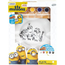 Minions Paint your own porcelain plate 16x46cm