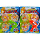 wholesale Fashion & Apparel: Afietiet Spinning Top on card assorted 25x33cm