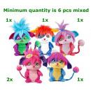 hurtownia Zabawki pluszowe & lalki: Popple pluszowe 5 sztuk w Display 20cm