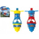 Sonic Boom Light-Up Spinning Top 3 assorted 9.5 cm